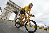 """Etapą Eliziejaus laukuose laimėjo A.Kristoffas, G.Thomasas tapo """"Tour de France"""" čempionu"""