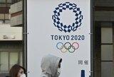 TOK narys tvirtina, kad Tokijo olimpiadą jau nuspręsta perkelti į kitą laiką