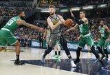 """Blankus D.Sabonio ir """"Pacers"""" puolimas baigėsi nesėkme Bostone"""