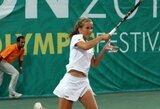 J.Mikulskytė baigė pasirodymą pirmos kategorijos jaunių teniso turnyre Čekijoje