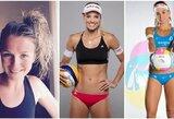 Tarp gražiausių Tokijo olimpiados paplūdimio tinklinio turnyro kandidačių – ir lietuvė