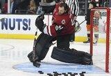 NHL įgūdžių konkursuose - fantastinis S.Crosby tikslumas, C.McDavido greitis, Sh.Weberio stiprumas ir beprotiškas įvartis
