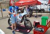 B.Bardauskas pirmuose Dakaro ralio etapuose laikysis saugesnės taktikos