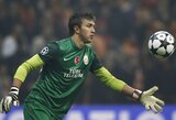 """Neįtikėtina """"Galatasaray"""" vartininko klaida"""