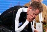 Europos dailiojo čiuožimo čempionate – rusų triumfas ir du lyderio kritimai