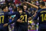 """Nacho įvartis padovanojo """"Real"""" pergalę prieš """"Valladolid"""""""