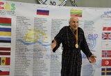 Plaukimo varžybose Vilniuje – olimpinio vicečempiono dominavimas ir 94-erių metų lietuvio startai