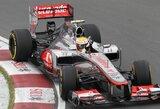 Kanados GP pirmosiose treniruotėse greičiausias buvo L.Hamiltonas
