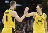 """L.Jameso trigubas dublis nepadėjo – """"Pacers"""" per pirmą kėlinį patiesė """"Cavaliers"""""""