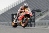 Penkta pergalė iš eilės: M.Marquezas – nepralenkiamas JAV GP kvalifikacijoje