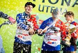 Utenoje paaiškėjo pirmoji Lietuvos motokroso istorijoje moterų klasės čempionė, D.Jazdauskas sukūrė stebuklą