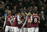 """Be pagrindinės sudėties futbolininkų žaidusį """"Liverpool"""" sutriuškinusi """"Aston Villa"""" iškovojo bilietą į """"Carabao"""" taurės pusfinalį"""