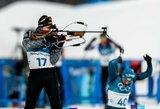 T.Kaukėnas startavo puikiai, bet Lietuvos biatlono rinktinė buvo aplenkta ratu, dominavo rusai
