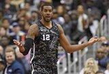 """""""Wizards"""" nutraukė nesėkmių seriją, o """"Spurs"""" neteko dar vieno lyderio"""