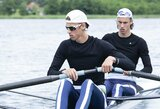 Broliai Stankūnai – Europos jaunimo irklavimo čempionato A finale