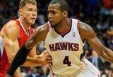 """Atlantos klubas įveikė """"Clippers"""" krepšininkus, K.Korveris pakartojo NBA rekordą"""
