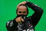 """Prancūzijos žiniasklaida: L.Hamiltonas pasirašys rekordinį kontraktą su """"Mercedes"""""""
