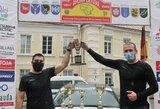 Prezidento taurę iškovojo P.Vasiliūnas su R.Giliumi