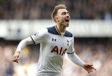 """C.Erikseno vedami """"Tottenham"""" pirmieji pateko į Anglijos FA taurės pusfinalį"""