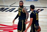 """""""Lakers"""" įpusėjo kelią link NBA titulo"""
