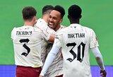 """Baudinių serijos metu """"Liverpool"""" įveikęs """"Arsenal"""" iškovojo FA """"Community Shield"""" taurę"""