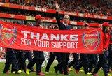 """Anglijos """"Premier"""" lygos apžvalga: """"Arsenal"""" klubas finišo tiesiojoje aplenkė """"Tottenham"""""""