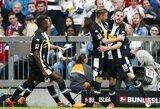 """Vokietijoje Monchengladbacho """"Borussia"""" iškovojo užtikrintą pergalę"""
