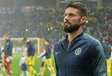 """Dėl vietos """"Chelsea"""" klube kovoti ryžtingai nusiteikęs O.Giroudas: """"Nesitikėkite, jog pasiduosiu"""""""