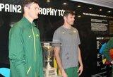 Pasaulio taurės turą vainikavo Lietuvos rinktinės vizitas