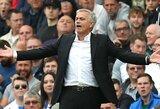 """Patikimi šaltiniai: J.Mourinho paliktų """"Man United"""", jeigu sulauktų kokio nors kito klubo pasiūlymo"""