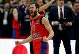 Fantastiškai žaidęs S.Rodriguezas vedė CSKA į antrąją pergalę