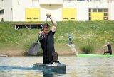 Pasaulio rekordininkas kanojininkas V.Korobovas pradėjo planetos jaunimo čempionatą