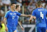 """""""Euro 2016"""" repeticijos: Vokietija sulaukė antausio iš Slovakijos, Ispanija palaužė bosnius"""