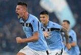 """PSG rengiasi plačiai atverti piniginę dėl dviejų """"Lazio"""" žaidėjų"""