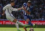 """Madride kils aistros: """"Real"""" klubas ketina išpirkti """"Atleltico"""" klubo gynėjo sutartį"""