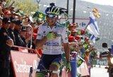"""J.E.Chavesas laimėjo šeštąjį """"Vuelta a Espana"""" etapą ir susigrąžino lyderio marškinėlius"""