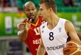 Po pertraukos turkų puolimą sustabdę vokiečiai laimėjo ir be NBA žaidėjų indėlio