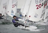 """G.Scheidt Europos """"Laser Radial"""" buriavimo čempionate šoktelėjo net į 4-ą vietą"""