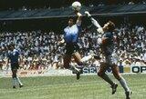 """D.Maradona atsivėrė: """"Po """"Dievo rankos"""" liepiau komandos draugams užsičiaupti ir mane apkabinti"""""""