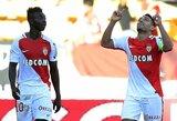 """""""Monaco"""" šventė septintą pergalę iš eilės ir toliau lyderiauja Prancūzijoje"""