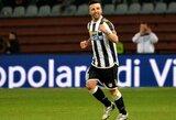 """Italijos taurėje – penki A.Di Natale įvarčiai, """"Lazio"""" per antrą kėlinį įmušė 7 įvarčius (+ kiti rezultatai)"""