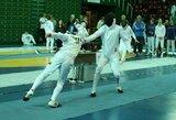 Pasaulio jaunimo fechtavimo čempionatas baigėsi dramatišku Lietuvos rinktinės pralaimėjimu