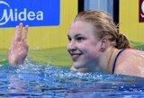 R.Meilutytė pratęsė savo dominavimą: keturios rungtys – keturi aukso medaliai (papildyta)