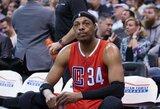 """P.Pierce'as artėjančią naktį paskutinį kartą žais """"TD Garden"""" arenoje"""