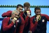 Olimpiados medalių įskaitoje – dviejų šalių kova dėl pirmosios vietos