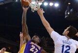 """Lakers"" klubas sutriuškintas Oklende"