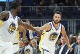 """D.Greenas: """"Curry yra pavyzdingas lyderis"""""""