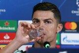 """C.Ronaldo dar negalvoja apie karjeros pabaigą: """"Amžius yra tik skaičius"""""""