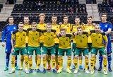 Lietuvos futsal rinktinėje – septyni naujokai ir sugrįžę senbuviai