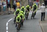 R.Navardauskas trečiajame dviračių lenktynių Italijoje etape tapo komandos lyderiu